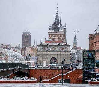 Gdańsk pod śnieżną pierzynką. W obiektywie fotoreportera