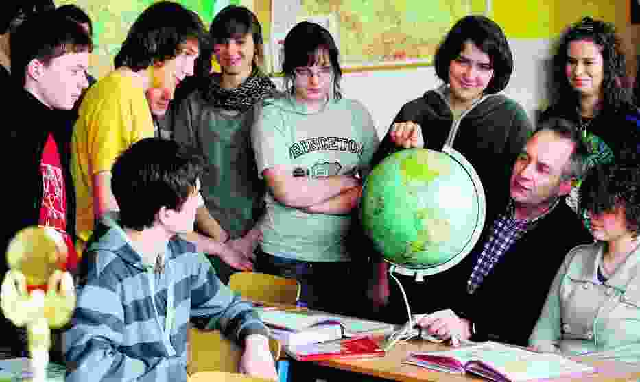 Uczniowie klasy III k z XIV LO przy al