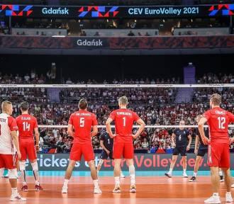 Siatkarski mecz Polska - Rosja w Ergo Arenie