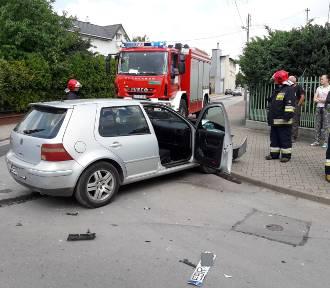 Wypadek w centrum Skierniewic. Kobieta jechała pod prąd