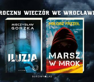 Mroczny wieczór we Wrocławiu, czyli nowi autorzy kryminałów: Mieczysław Gorzka i Miłosz Fryzeł