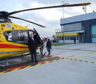 Otwarto stałą bazę Lotniczego Pogotowia Ratunkowego w Michałkowie!