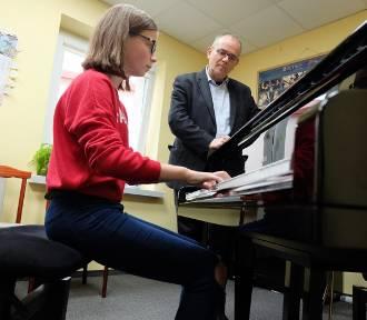 PSM Sieradz: koncert, wykład i warsztaty amerykańskiego pianisty (fot)