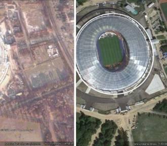 Śląskie się zmienia i dobrze widać to z satelity