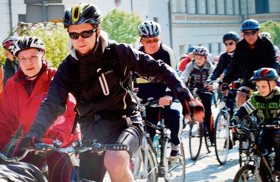 Z Głogowa do Dalkowa pojechało ponad 250 rowerzystów