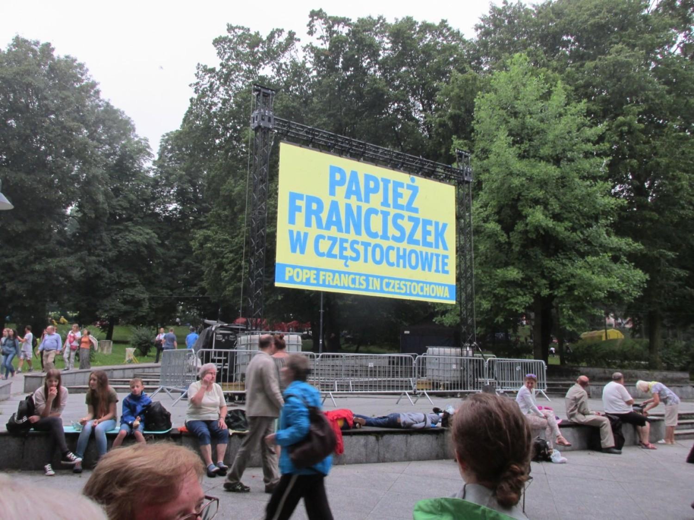 Parafianie ze Stolca w Częstochowie