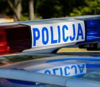 Wypadek w Szymbarku - dwie osoby odniosły obrażenia