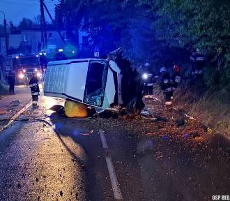 Rumia, wypadek na Kamiennej. Wyglądało to strasznie! ZDJĘCIA