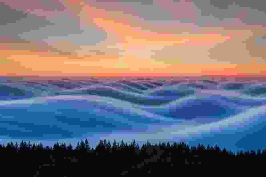 Na tych zdjęciach chmury wyglądają jak wzburzone morze!