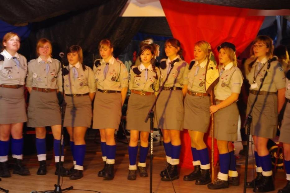 Występ 4 Radomszczańskiej Drużyny Harcerek