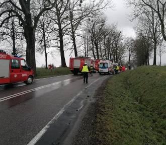 Wypadek na drodze nr 55. Nie żyje 68-latek z Sadlinek