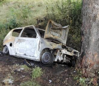 Wypadek w Strzyżowicach [WYPADEK]. Samochód uderzył w drzewo, zginął kierowca
