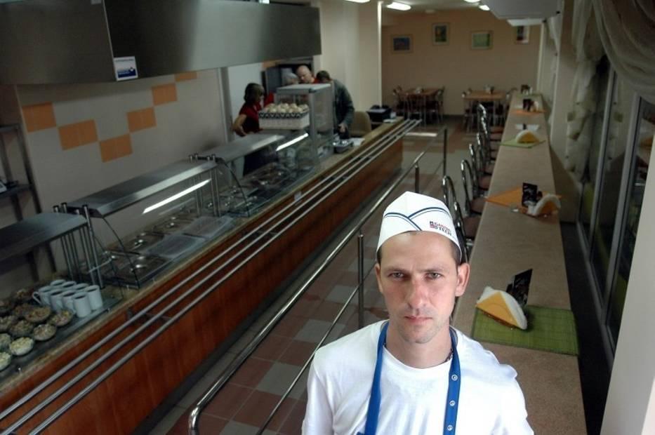 W Barze Słoneczko także są zatrudniane osoby niepełnosprawne