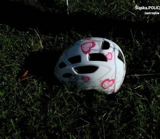 Jastrzębie-Zdrój: 10-latka wjechała rowerem pod BMW. Została potrącona [ZDJĘCIA]