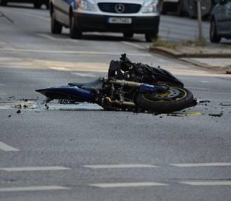 W Gorzycach Wielkich doszło do tragicznego wypadku - nie żyje motocyklista!