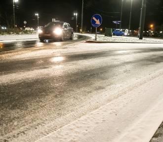 W nocy na drogach i chodnikach w Jarosławiu może być bardzo ślisko