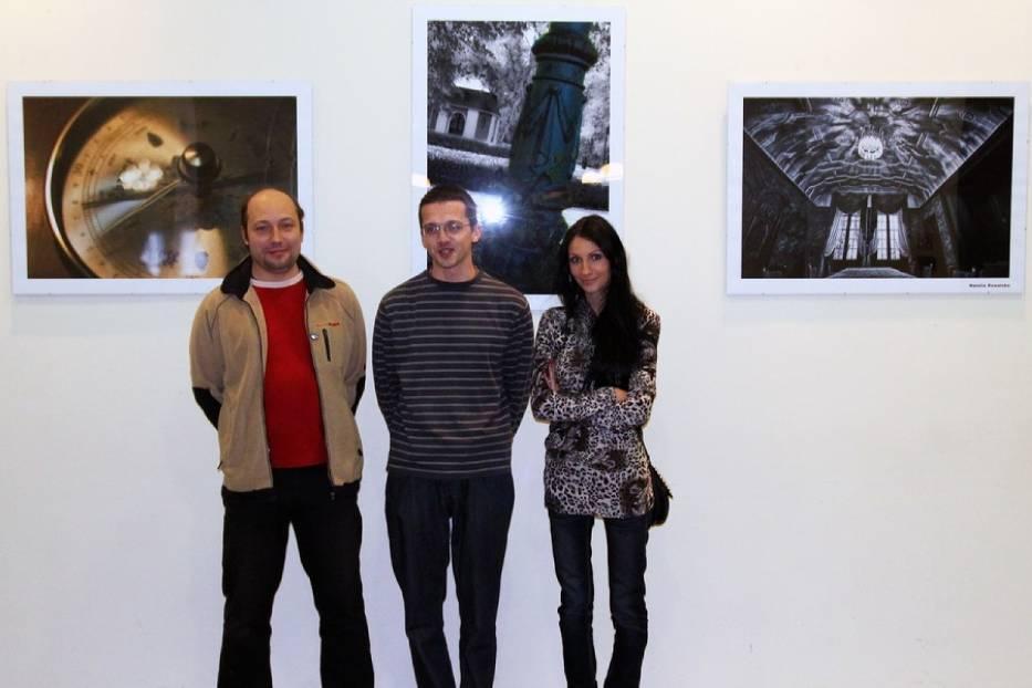 Werisaż wystawy zdjęć z Foto Dej w Instytucie Europejskim