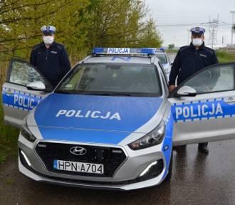 Pruszcz Gdański. Policjanci ratowali 3-letniego chłopca