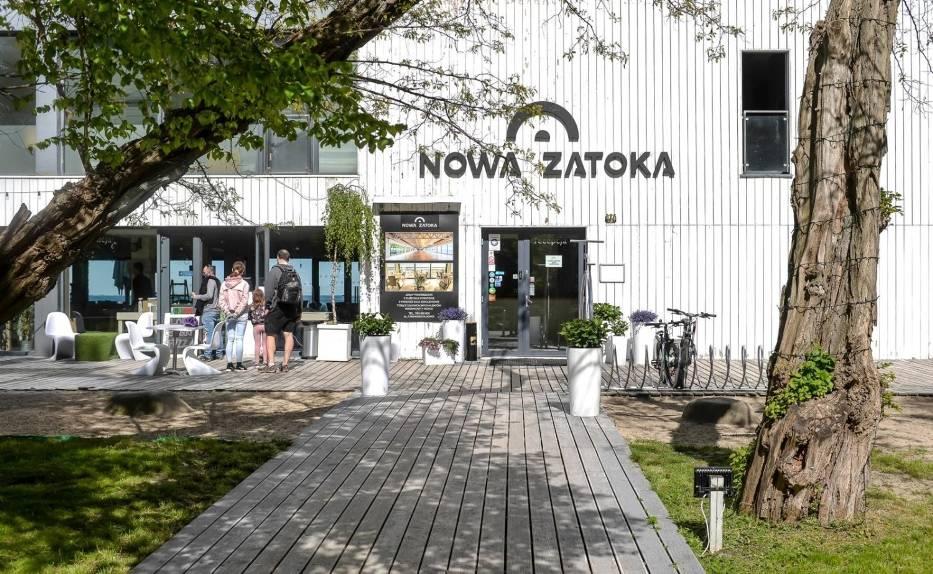 Nowa Zatoka - dawna Zatoka Sztuki w Sopocie