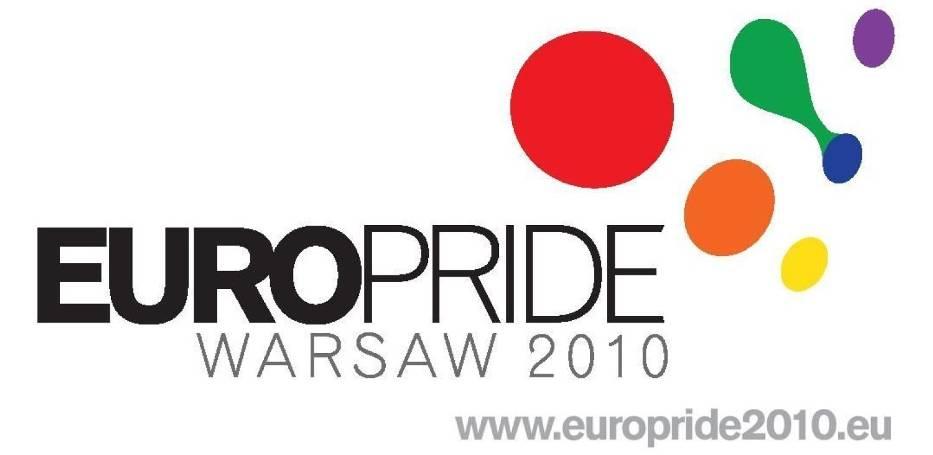Logo EuroPride 2010 w Warszawie