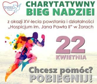 """W kwietniu w Żorach charytatywny """"Bieg Nadziei"""" dla hospicjum"""