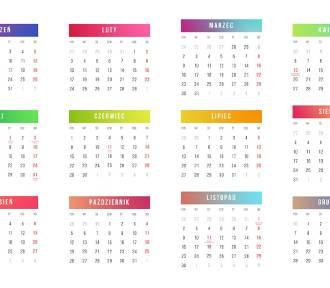 Kalendarz dni wolnych 2020: kiedy wziąć urlop?