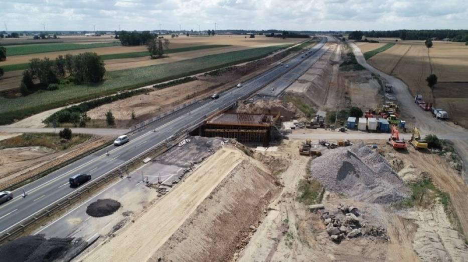 Tuszyn - Piotrków Trybunalski Południe- W tym roku planujemy umożliwić kierowcom ominięcie Częstochowy, oddając do użytku ponad ok