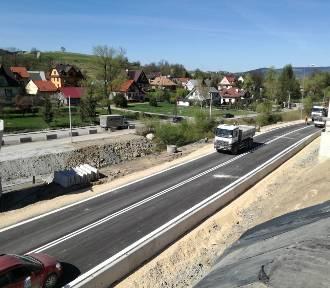 Koniec robót i objazdu w Lubniu. Przywrócą ruch na Zakopiance w piątek ok. godziny 18