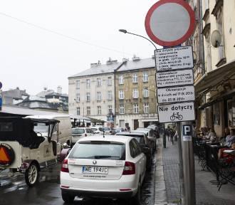 Wojewoda zmienia organizację ruchu w Krakowie. Strefa na Kazimierzu do likwidacji