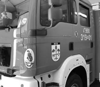 Pożarowa środa na naszym terenie. Tragedia w gminie Buk. Strażak zasłabł na akcji, zmarł w szpitalu!