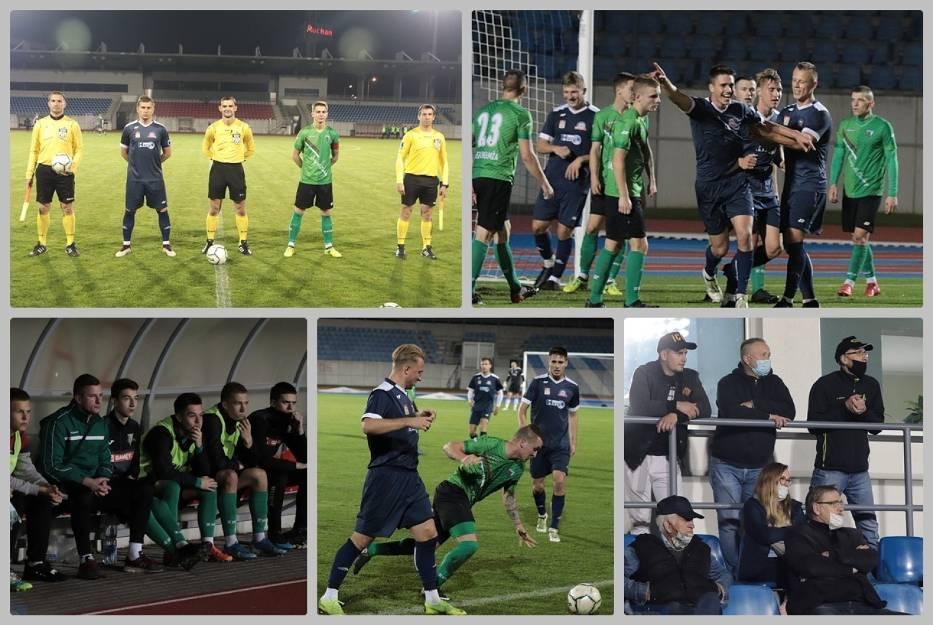 Mecz Lider Włocławek - Legia Chełmża na stadionie OSiR przy ul