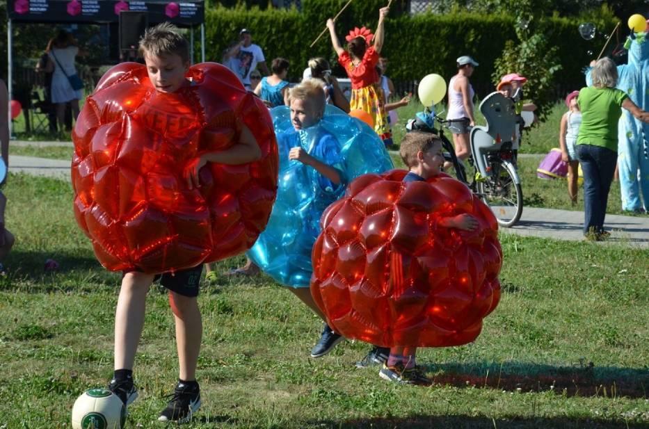 Festyn w parku Jaworek