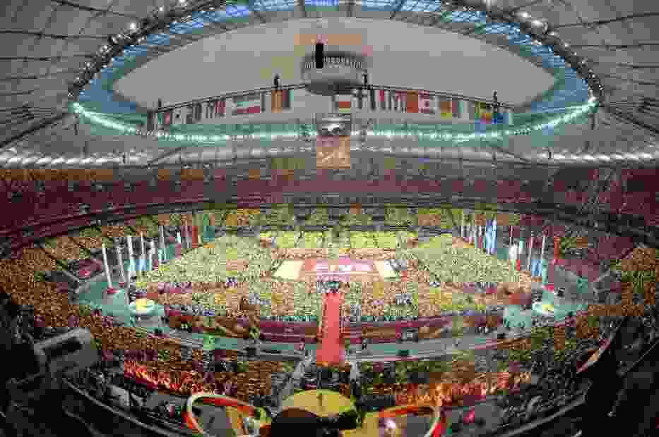 Mecz i ceremonię otwarcia obejrzało na Stadionie Narodowym 62 tys. widzów