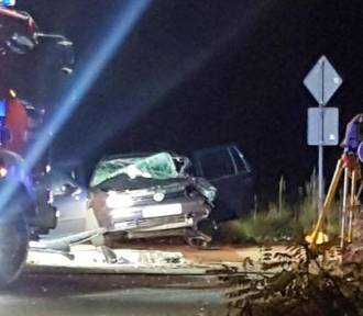 Tragedia na ul. Unruga w Dąbrowie Górniczej. W wypadku samochodowym zginął 32-latek