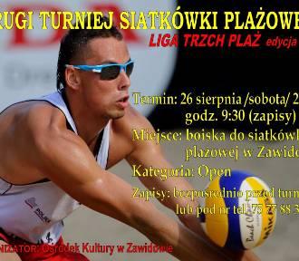 Liga Trzech Plaż: Turniej siatkówki plażowej w Zawidowie
