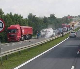 Sarnów: Wypadek na DK 86