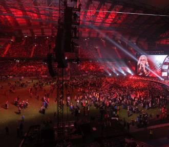 """Koncert """"Muzyka Wolności"""": Pustki na płycie Stadionu Miejskiego"""