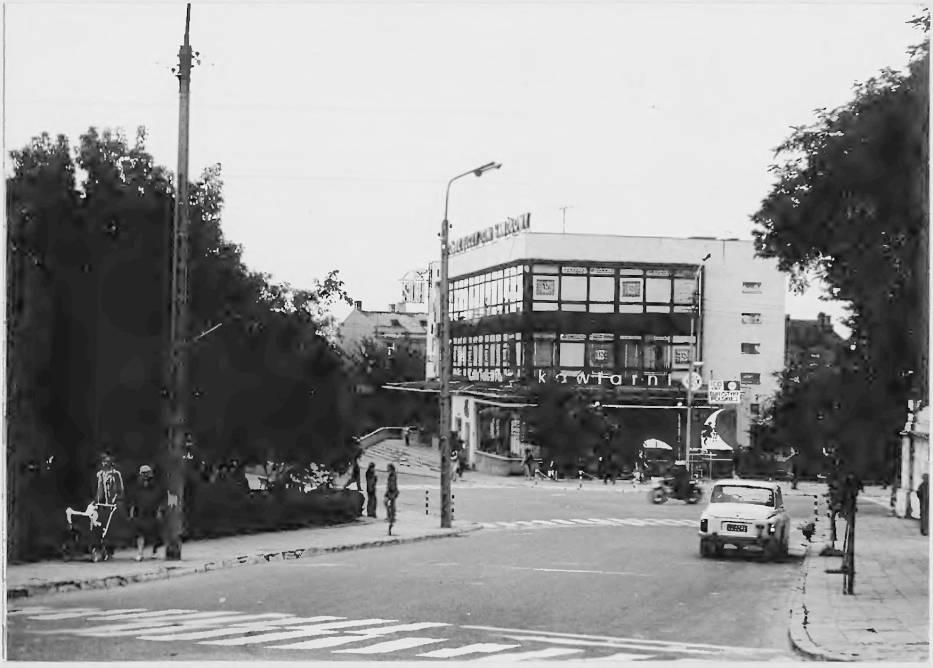 Lata 1970-1975, Chełm – chełmski modernizm – Spółdzielczy Dom Handlowy (SDH) z kawiarnią Kosmos w latach 70-tych