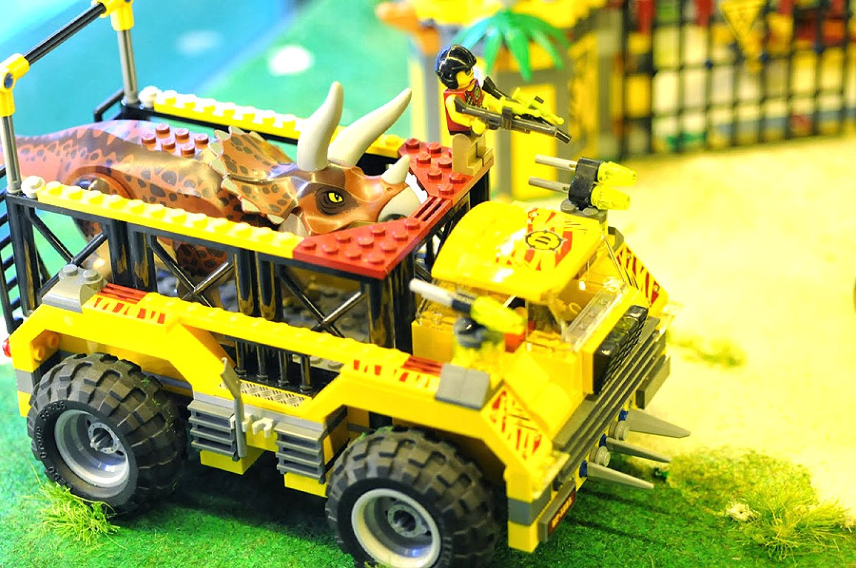 Zobacz niezwykłe makiety wykonane z klocków Lego