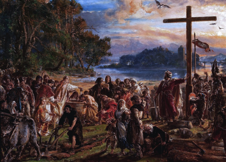Początki państwa PolskiegoW X wieku na stołach królowały zboża, kasze, groch oraz mięso dzikich i hodowlanych zwierząt