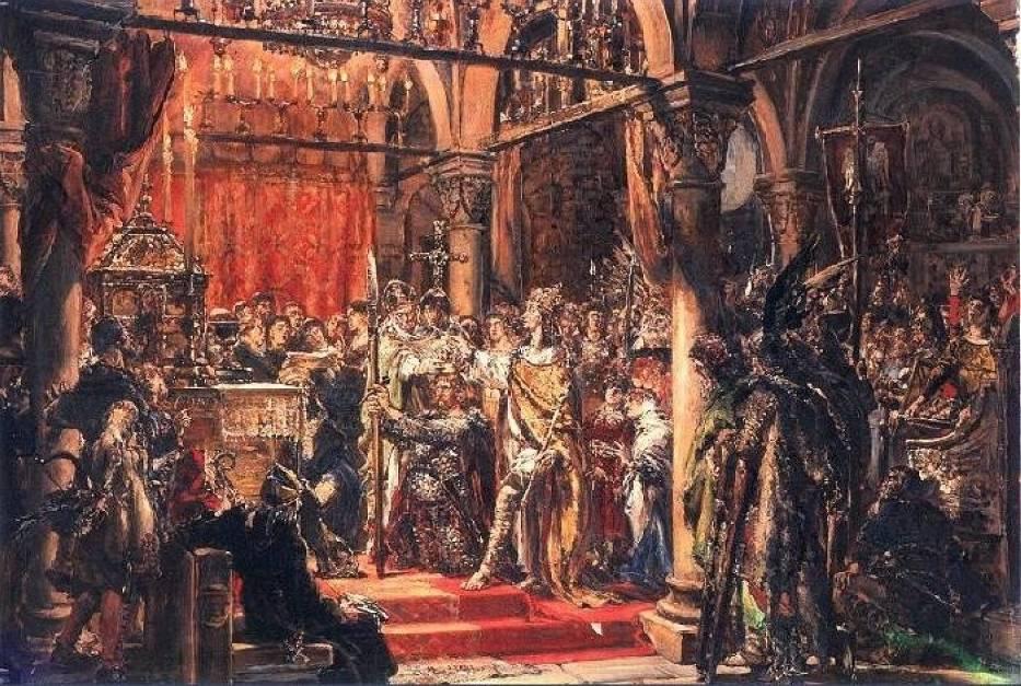Biesiady u ChrobregoBiesiady zwykle związane były ze świętami, uroczystościami rodzinnymi lub przyjmowaniem darzonych szacunkiem gości