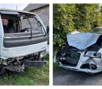 Wypadek w powiecie aleksandrowskim. 18-latka śmigłowcem LPR zabrana do szpitala