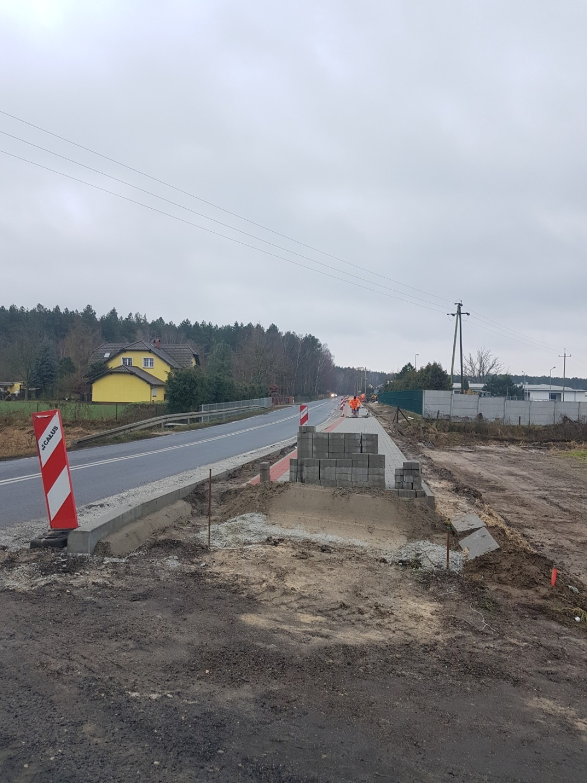Trwa budowa ścieżek rowerowych w gminie Wolsztyn