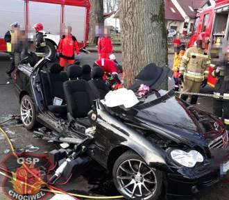 Tragiczny wypadek pod Chociwlem