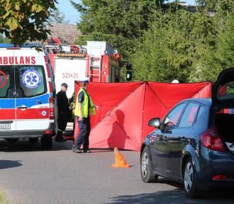 Sławsko: Groźny wypadek AKTUALIZCJA: Motocyklista zmarł [ZDJĘCIA, WIDEO]