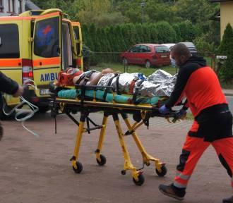 Ciężko ranni po wypadku autokaru na A6! Spokojnie, to były ćwiczenia medyków