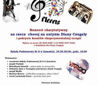 Koncert charytatywny dla Diany Czugały. Zobacz co będzie się działo w SP nr 8