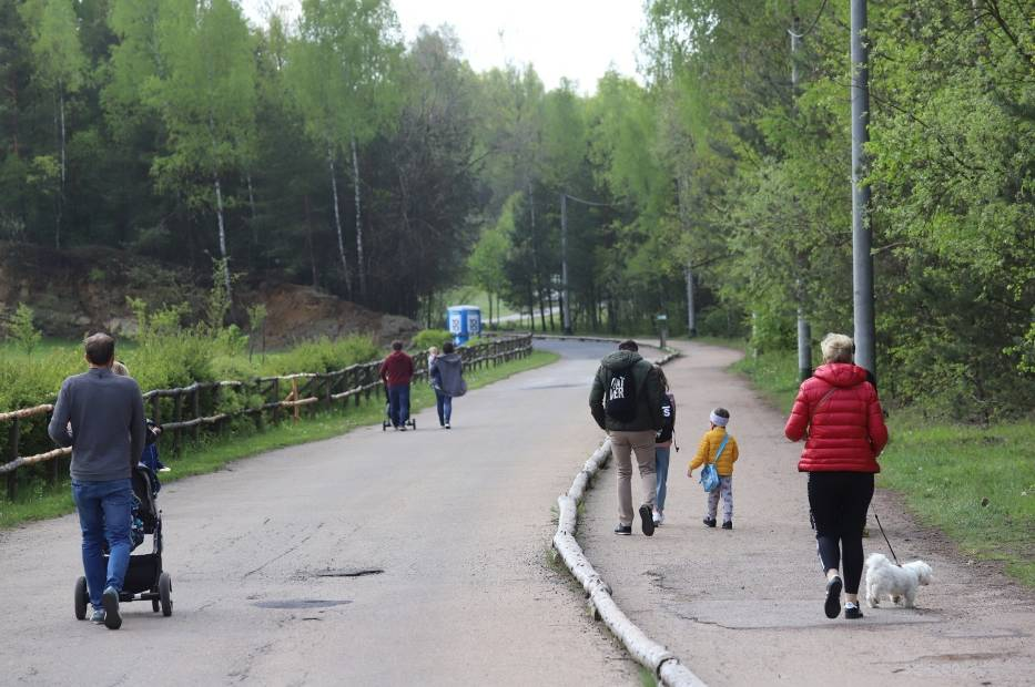 Park Gródek w Jaworznie podczas weekendu odwiedziły tłumy