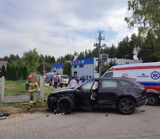 Wypadek na drodze krajowej nr 22 - droga zablokowana