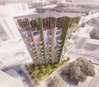 Eco Warsaw Tower. Nad Wisłą powstaje ekologiczny wieżowiec. Tak będzie wyglądał [WIZUALIZACJE]